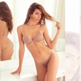 ART 4650 - Pijama de Algodón Rústico con Puño y Estampa.