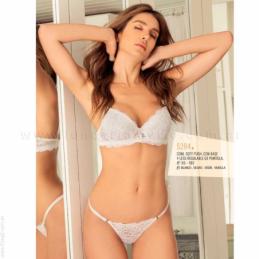 ART 4660 - Pijama de Nena de Microfibra con Lycra y Jersey 100 % Algodón con Estampa.