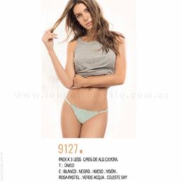 ART 4707 - Pijama de Microfibra con Lycra y Remera de Yersey 100 % Algodón con Estampa Dorada